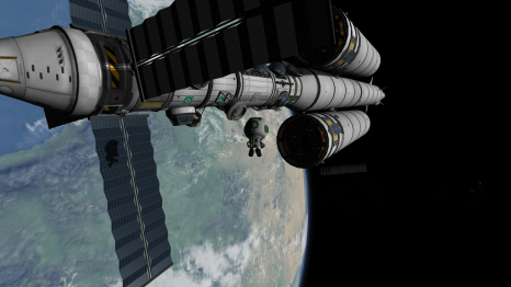 Two docked, one to go!